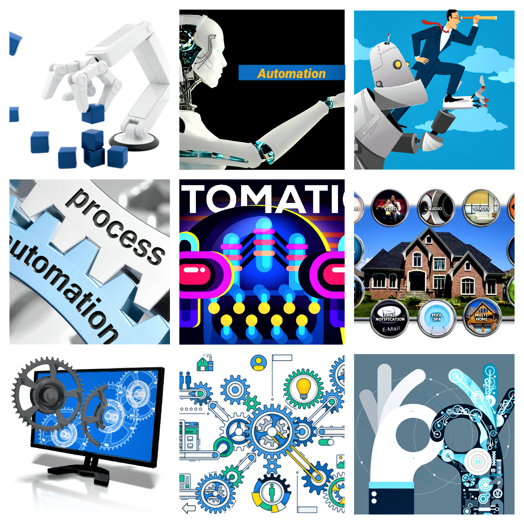 Automation Collage